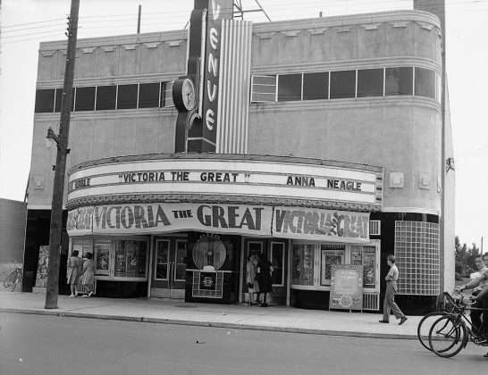 1939 - Avenue Theatre once at 331 Eglinton Ave W at Braemar Ave - building no longer exists