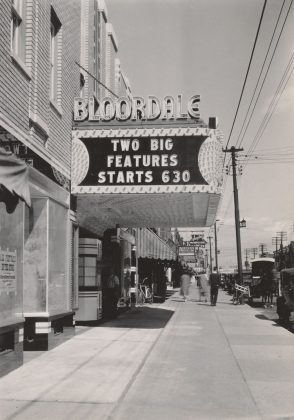 1935 - Bloordale/State Theatre once at 1606 Bloor St (now 1610), north side between Dorval Rd and Indian Rd - opened from 1935 to 1968