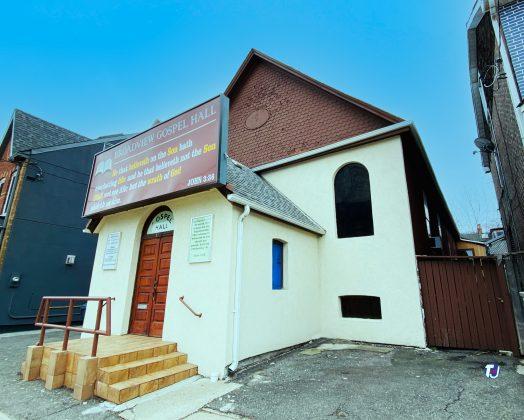 2021 - Broadview Gospel Hall at 194 Broadview Ave