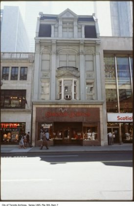 1978 - Cameron Jeffries once at 104 Yonge St - now Pizzaiolo The Pizza Maker's Pizza