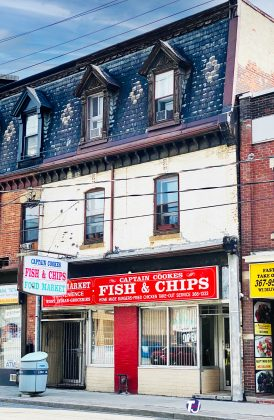 2020 - Captian Cookes Fish & Chips at 219 Parliament St