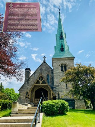 2020 - Chapel of St James-the-Less at 635 Parliament St (at St James Cemetery)