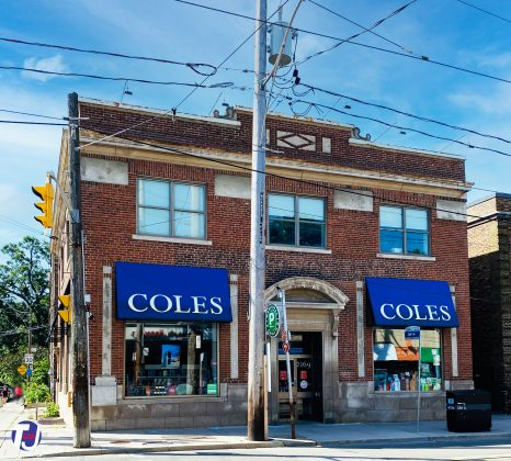 2020 - Coles at 2169 Queen St E