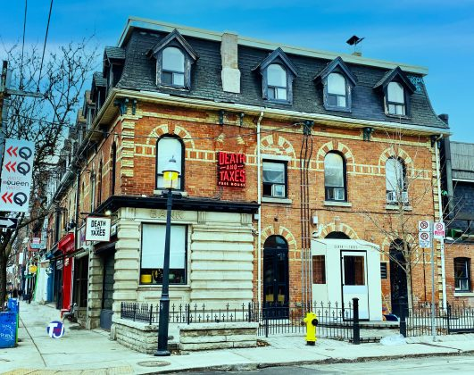 2019 - Death & Taxes Free House at 1154 Queen St W