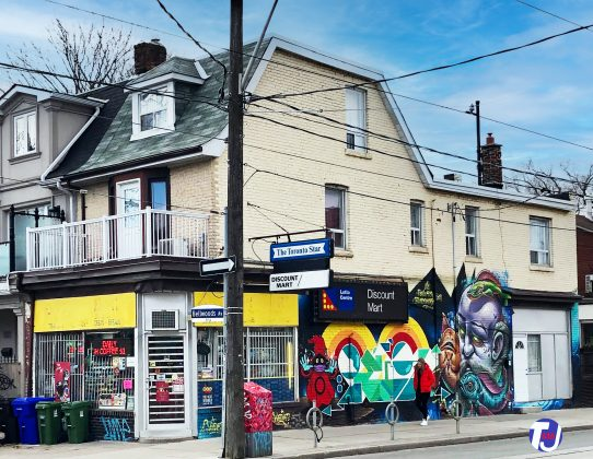2020 - Discount Mart at 919 Dundas St W - now closed