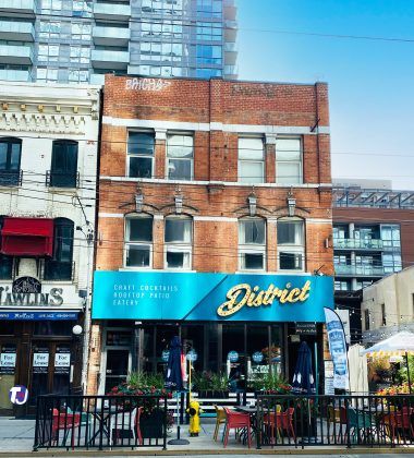 2020 - District Restaurant and Bar at 303 King St W
