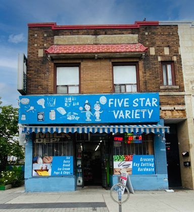 2020 - Five Star Variety at 1210 Bloor St W