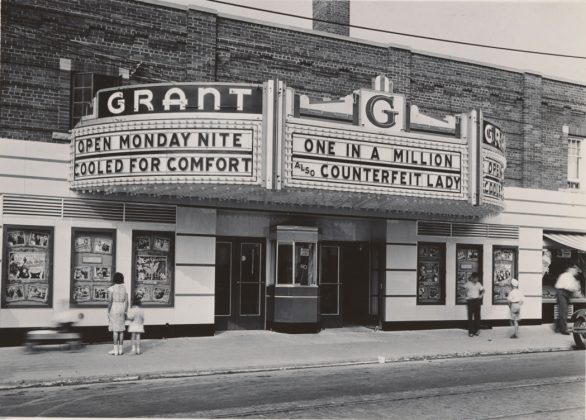 1935/37 - Grant Theatre once at 522 Oakwood Ave, south of Vaughan Rd on west side - opened from 1930 to 1956