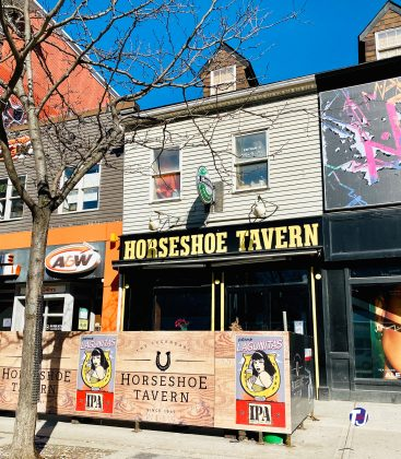 2020 - Horseshoe Tavern at 370 Queen St W