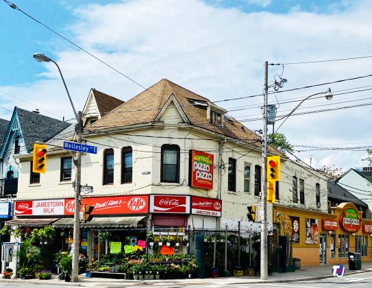 2020- Jamestown Milk at 592 Parliament St – and first Pizza Pizza Store