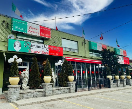 2020 - Mamma Martino's Restaurant at 624-B The Queensway