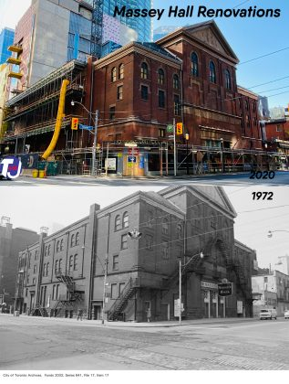 2020/1972 - Massey Hall at 178 Victoria St (City of Toronto Archives)