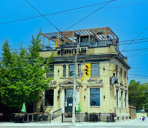 2021 - Murphy's Law Pub and Kitchen at 1702 Queen St E (at Kingston Rd)