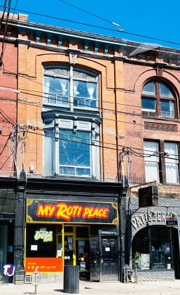 2021 - My Roti Place at 1376 Queen St W