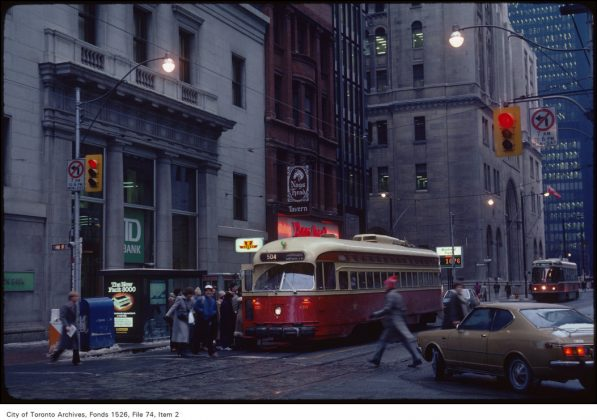 1982 - Nags Head once at 7 King St W (west of Yonge St)