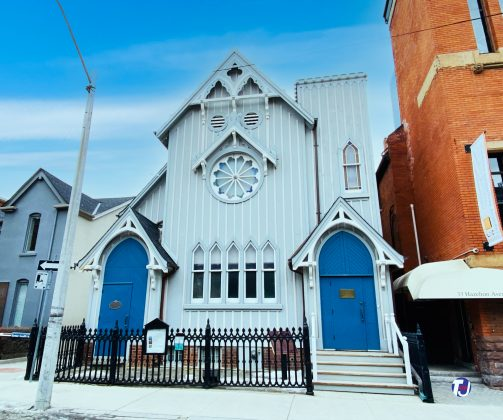 2021 - Olivet Congregational Church once at 35 Hazelton Ave - now Toronto Heliconian Club
