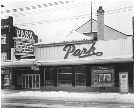 1949 - Park Theatre, originally Bedford once at 3289-3291 Yonge St, south of Glenforest Rd on east side - opened in 1926 as Bedford Theatre
