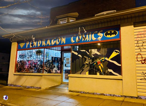 2019 - Pendragon Comics once at 3759 Lake Shore Blvd W - now at 250 The East Mall