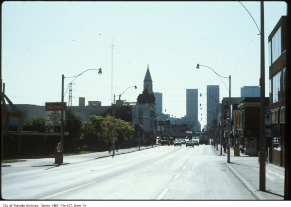 1977 - Ports of Call once at 1145 Yonge St, between Shaftesbury & Summerhill Aves