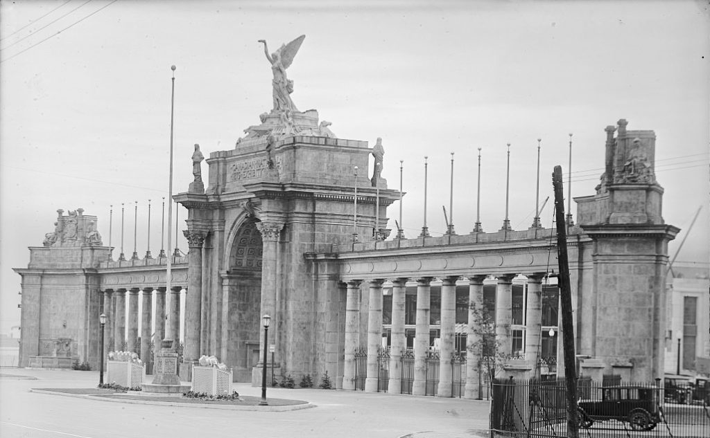 1929 - The Princes' Gates at the Canadian National Exhibition