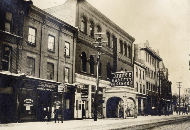 1910 - Princess Theatre, originally Academy of Music once at 167 King St W, between York and Simcoe Sts on south side - opened from around 1890 to 1930, building no longer exists
