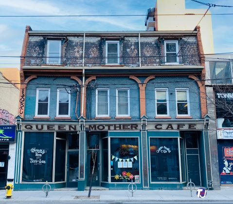 2021 - Queen Mother Cafe at 208 Queen St W