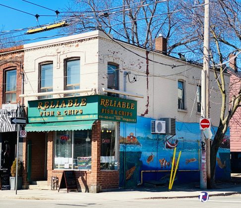 2021 - Reliable Fish & Chips at 954 Queen St E