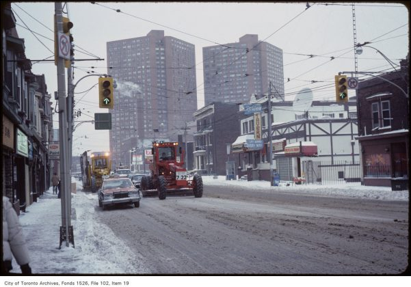 1984 - Rondun Tavern once at 2238 Dundas St W (south of Bloor St W)