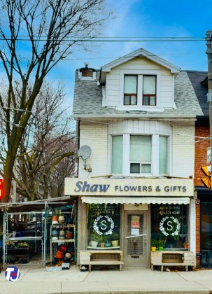 2020 – Shaw Flowers & Gifts at 1068 Dundas St W
