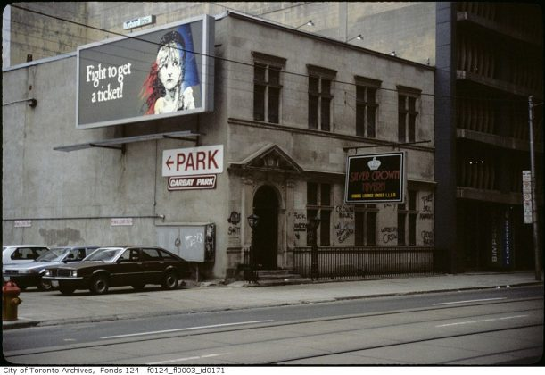 1972 - Silver Crown Tavern once at 25 Richmond St W (west of Yonge St)
