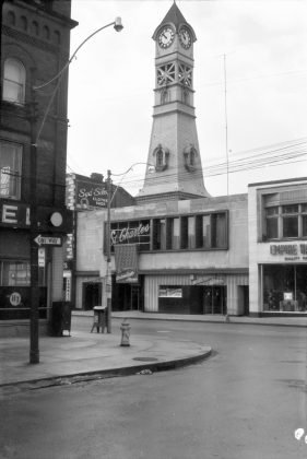 1955 - St Charles Tavern once at 488 Yonge (north of College St - Toronto Public Library r-3759)
