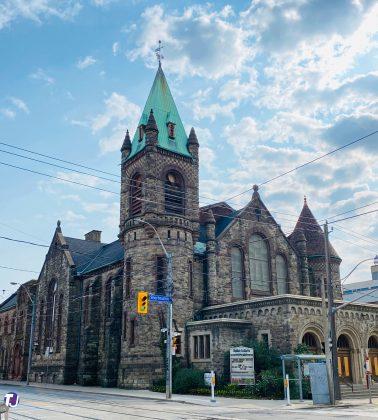 2020 - St Luke's United Church at 353 Sherbourne St (at Dundas St E)