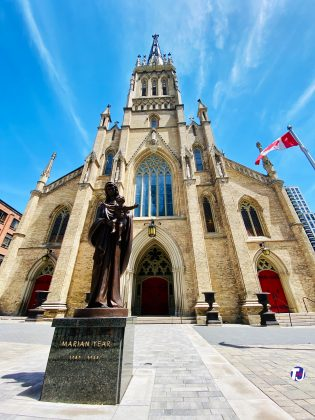 2020 - St Michael's Cathedral Basilica at 65 Bond St (between Church & Bond Sts)