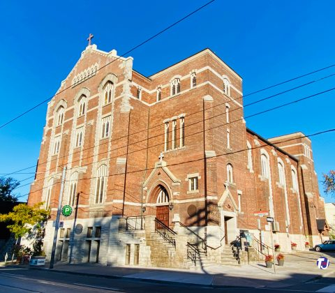 2020 - St Nicholas Ukrainian Catholic Church at 770 Queen St W (at Bellwoods Ave)