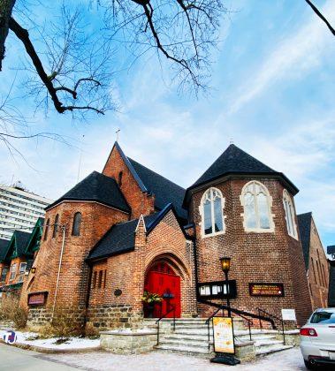 2020 - St Thomas's Anglican Church at 383 Huron St (at Washington Ave)