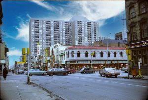 1966/72 - Stollery's at Yonge and Bloor Sts, looking southwest