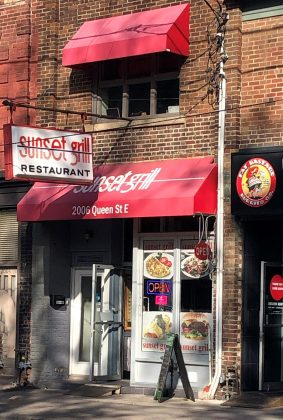 2019 - Sunset Grill at 2006 Queen St E