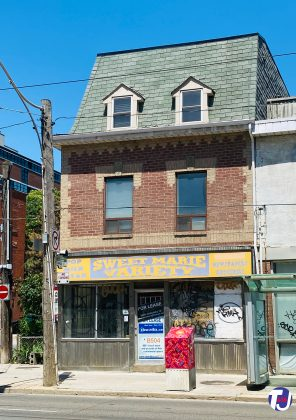 2020 - Sweet Marie Variety was once at 502 Queen St E - now closed