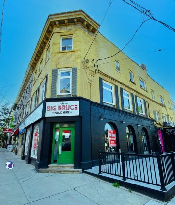 2020 - The Big Bruce Public House at 963 Queen St E - now closed