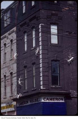 1984 - The Cameron House at 408 Queen St W