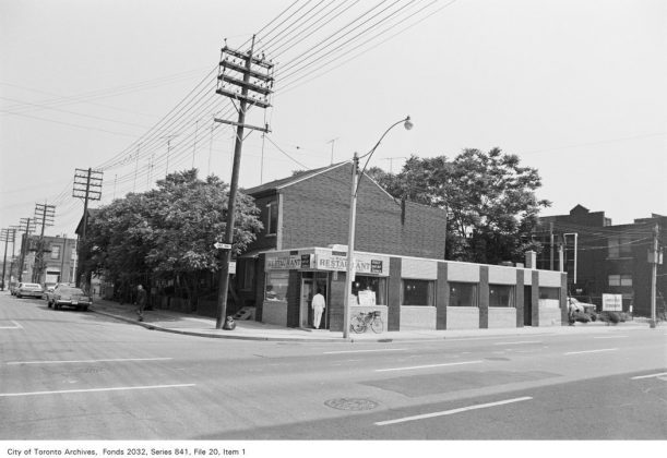 1972 - Richmond Restaurant was once at 29 George St - now The George Street Diner