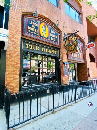 2020 - The Jersey Giant Pub at 71 Front St E - now closed
