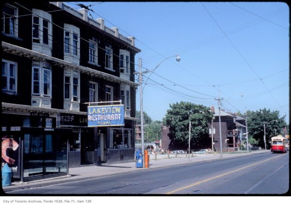 1983 - The Lakeview Restaurant at 1132 Dundas St W