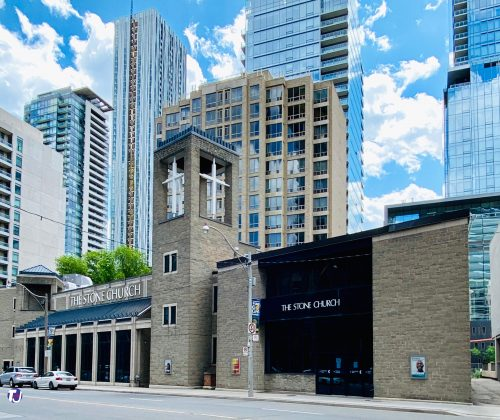 2020 - The Stone Church at 45 Davenport Rd (between Yonge & Bay Sts)