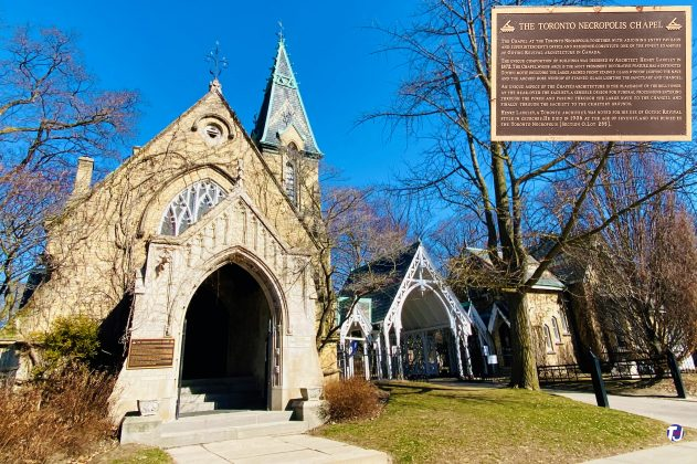 2021 - The Toronto Necropolis Chapel at 200 Winchester St