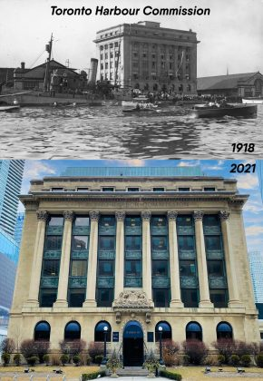 1918/2021 - Toronto Harbour Commission building at 60 Harbour St