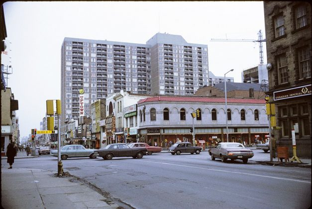 1971 - Uptown Theatre once at 764 Yonge St, west side south of Bloor St
