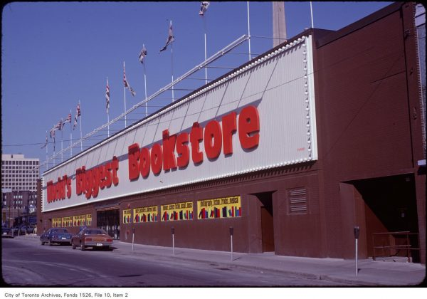 1981 - World's Biggest Bookstore was once at 20 Edward St