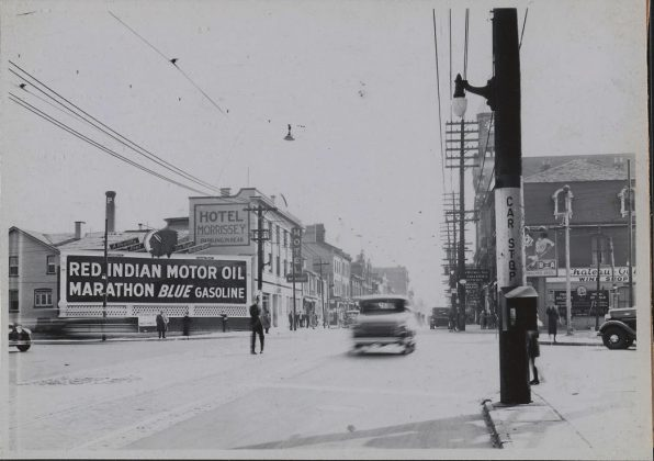 1936 – Hotel Morrissey once at 817 Yonge St, south of Church St on the east side