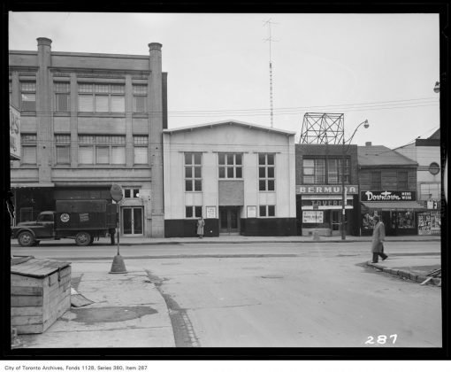 1950 - Bermuda Tavern once at 379 Yonge Street (was just south of Gerrard St E)